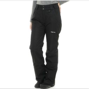 ARCTIX PLUS SIZE BLACK SNOW PANTS